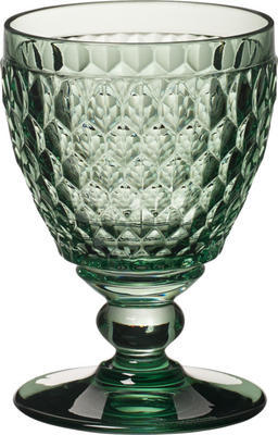 Zelený pohár na biele víno Boston coloured - 1