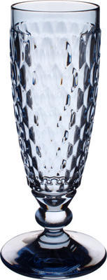 Modrý pohár na šampanské Boston coloured - 1