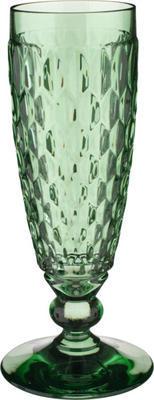 Zelený pohár na šampanské Boston coloured - 1