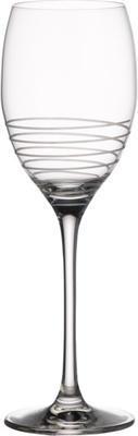 Špirálovitý pohár na biele víno 0,37 l Maxima Dec. - 1