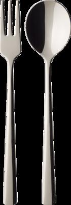 Lyžica, vidlička na cestoviny, 4 ks Daily Line Sp. - 1