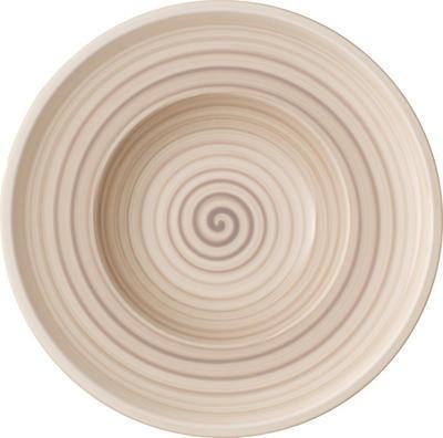 Hlboký tanier 25 cm Artesano Nature Beige - 1