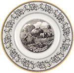 Plytký tanier 27 cm Audun Ferme - 1/2
