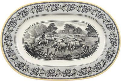 Oválny tanier 34 cm Audun Ferme - 1