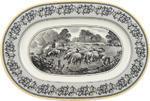 Oválny tanier 34 cm Audun Ferme - 1/2