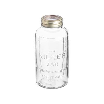 Výročný pohár s viečkom 0,75 l Kilner