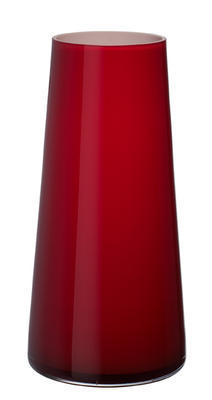 Váza deep cherry 34 cm Numa