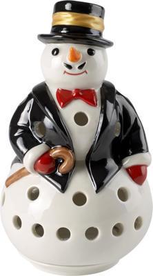 Svietnik, snehuliak 12,5 cm Christmas Light - 1