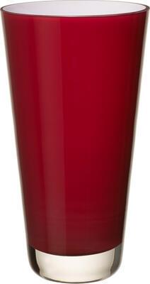 Váza malá, deep cherry, 25 cm Verso