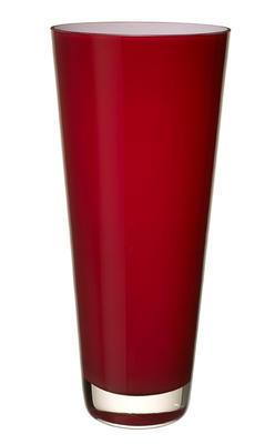 Váza deep cherry 38 cm Verso