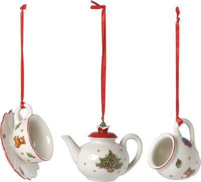 Závesné ozdoby kávový servis, 3 ks Nost. Ornaments - 1