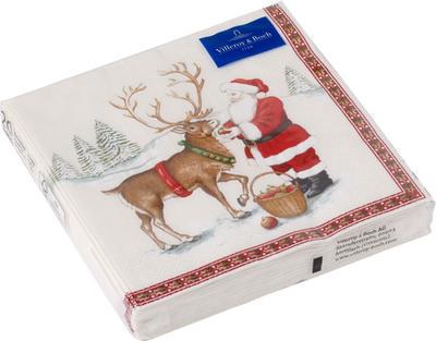 Servítky, Santa so sobom, stredné Winter Specials
