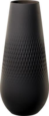 Vysoká váza, Perle, 26 cm Manufacture Collier noir - 1