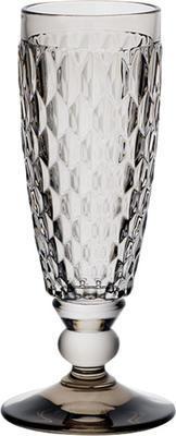Dymový pohár na šampanské Boston coloured - 1