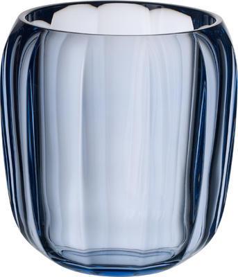Lampa na čajovú sviečku, modrá Coloured DeLight - 1