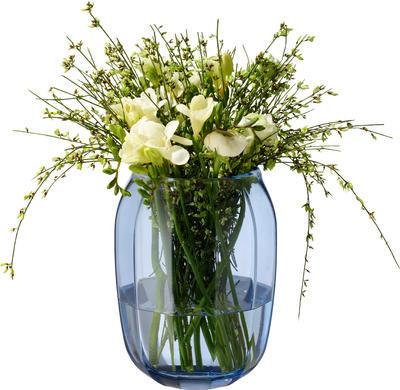 Váza/lampa na čajovú sviečku, modrá Col. DeLight - 1