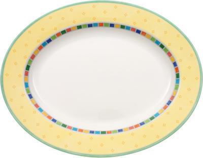 Oválny tanier 34 cm Twist Alea Limone - 1