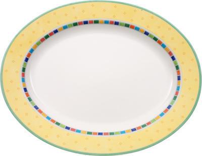 Oválny tanier 41 cm Twist Alea Limone - 1