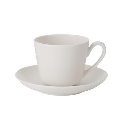 Espresso šálka 0,10 l s podšálkou Twist White - 1