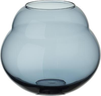 Váza/lampa na sviečku 17 cm Jolie Bleue - 1