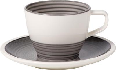 Kávová šálka 0,25 l s podšálkou Manufacture gris - 1