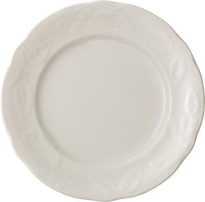 Plytký tanier 26 cm Rose Sauvage blanche - 1