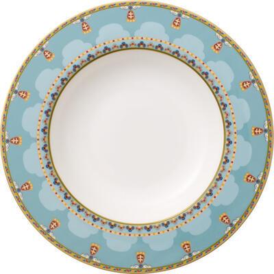Hlboký tanier 24 cm Samarkand Aquamarin - 1