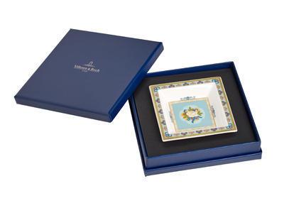 Miska štvorcová 10 x 10 cm Samarkand Aquamarin - 1