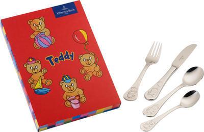 Detská príborová súprava 4 ks Teddy - 1