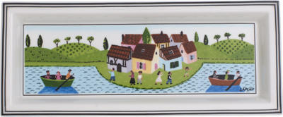 Obdĺžniková miska 23,6 x 9,7 cm Design Naif Gifts - 1