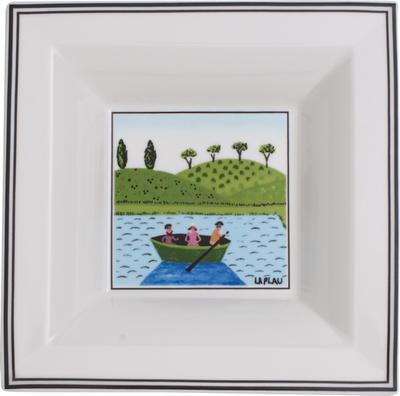 Štvorcová miska 14 x 14 cm Design Naif Gifts - 1