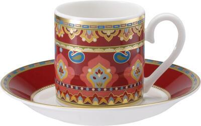 Espresso šálka 0,10 l s podšálkou Samarkand Rubin - 1