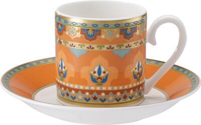 Espresso šálka 0,10 l s podšálkou Samark. Mandarin - 1
