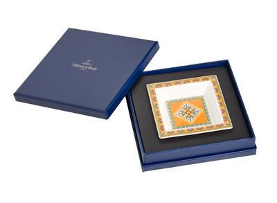 Miska štvorcová 10 x 10 cm Samarkand Mandarin - 1