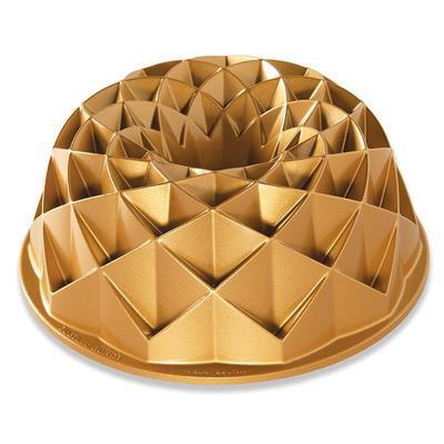 Forma na bábovku JUBILEE zlatá Nordic Ware - 1