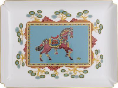 Dekoratívny tanier 28 x 21 cm Samarkand Aqu. Gifts - 1