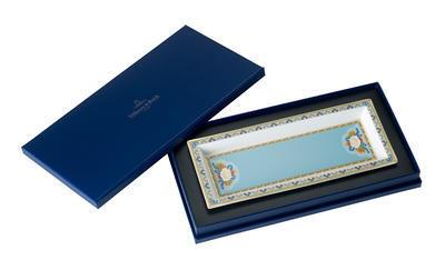 Miska obdĺžniková 25 x 10 cm Samarkand Aquamarin - 1