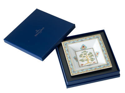 Miska štvorcová 14 x 14 cm Samarkand Aquamarin - 1