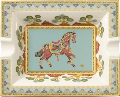 Popolník 17 x 21 cm Samarkand Aquamarin - 1