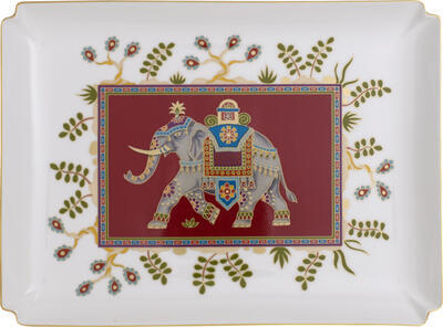 Dekoratívny tanier 28 x 21 cm Samarkand Rub. Gifts - 1