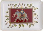 Dekoratívny tanier 28 x 21 cm Samarkand Rub. Gifts - 1/2