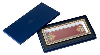 Miska obdĺžniková 25 x 10 cm Samarkand Rubin - 1