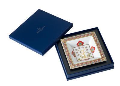 Miska štvorcová 14 x 14 cm Samarkand Rubin - 1