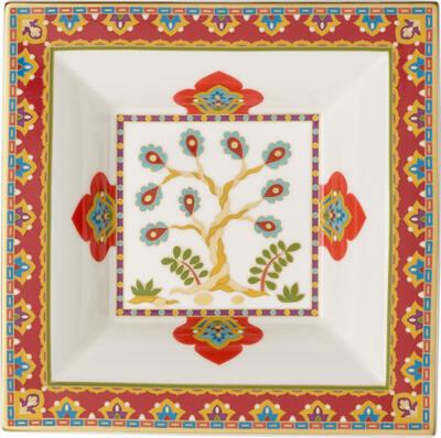 Štvorcová miska 14 x 14 cm Samarkand Accessories - 1