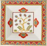 Štvorcová miska 14 x 14 cm Samarkand Accessories - 1/2