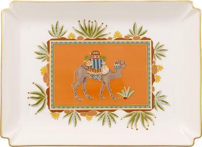 Dekoratívny tanier 28 x 21 cm Samarkand Man. Gifts - 1