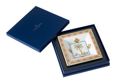 Miska štvorcová 14 x 14 cm Samarkand Mandarin - 1
