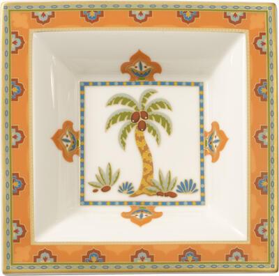 Štvorcová miska 14 x 14 cm Samarkand Mandarin - 1