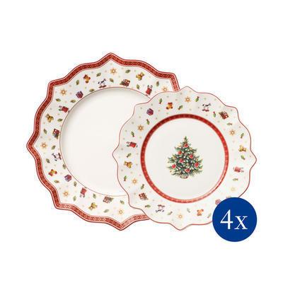 Vianočná súprava tanierov, 8 ks Toy's Delight - 1