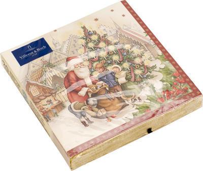 Servítky, vianočné trhy, veľké Winter Specials